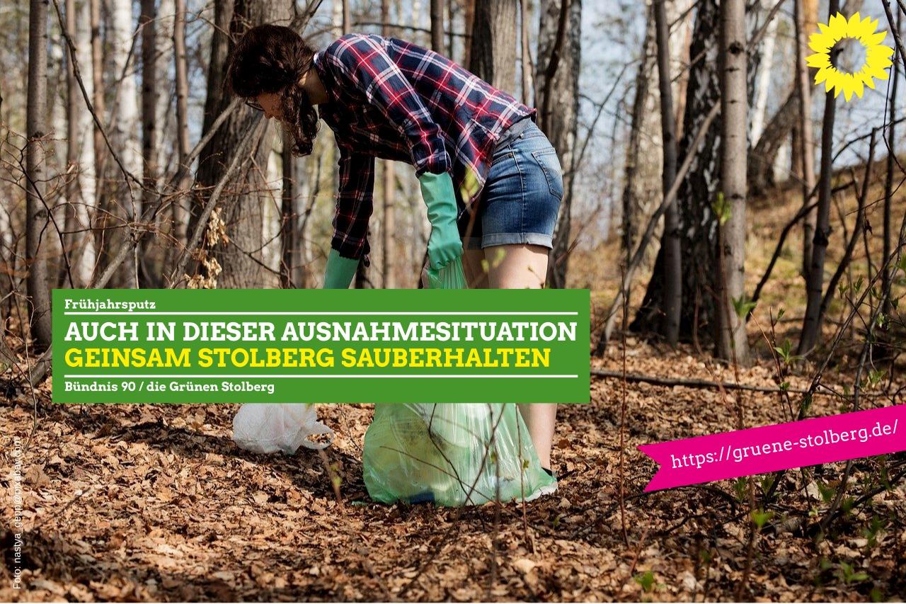 Getrennt und doch zusammen- Stolberg sauber halten
