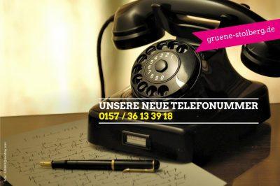 Unsere Telefonnummer